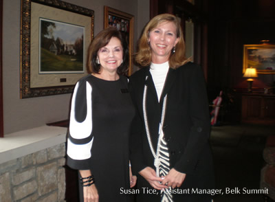 Susan Tice, Assistant Manager - Belk @ The Summit